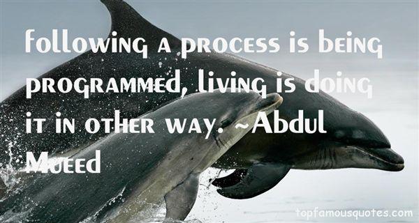 Abdul Mueed Quotes
