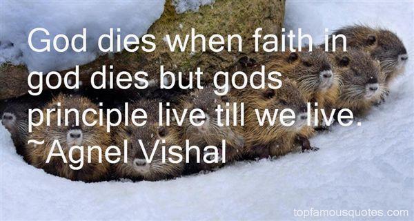 Agnel Vishal Quotes