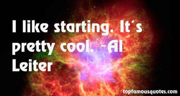 Al Leiter Quotes