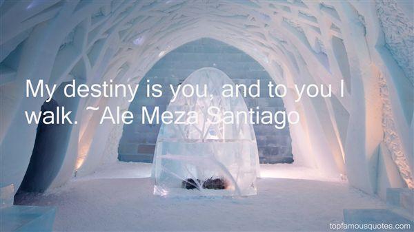 Ale Meza Santiago Quotes