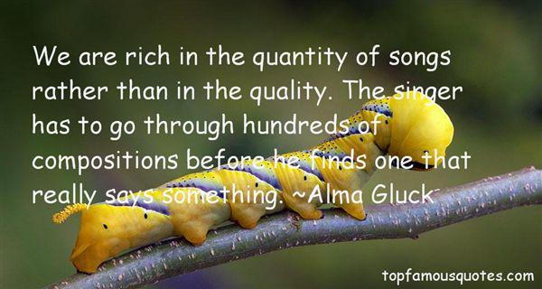 Alma Gluck Quotes