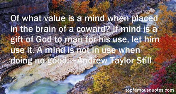 Andrew Taylor Still Quotes