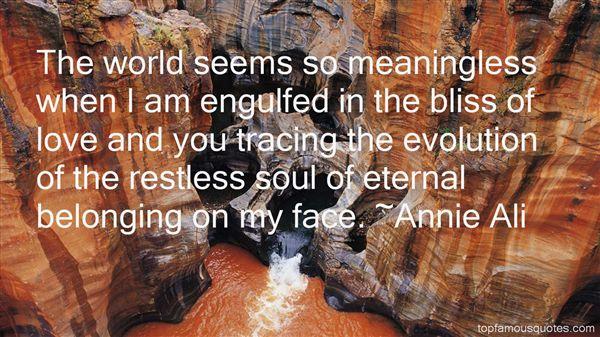 Annie Ali Quotes
