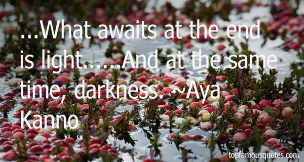Aya Kanno Quotes