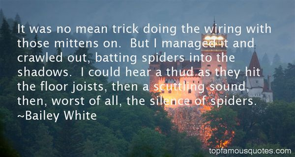 Bailey White Quotes