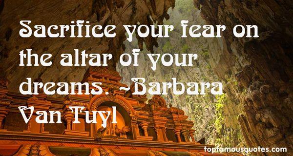 Barbara Van Tuyl Quotes