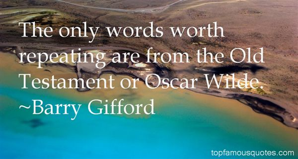 Barry Gifford Quotes