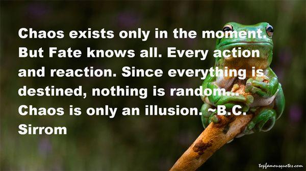 B.C. Sirrom Quotes
