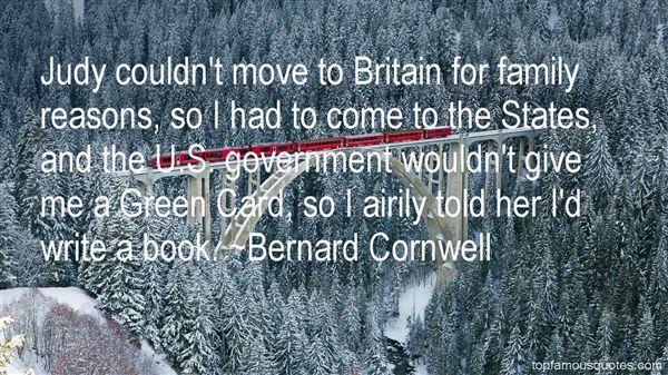 Bernard Cornwell Quotes