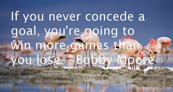 Bobby Moore Quotes