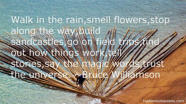 Bruce Williamson Quotes