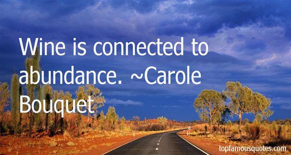 Carole Bouquet Quotes