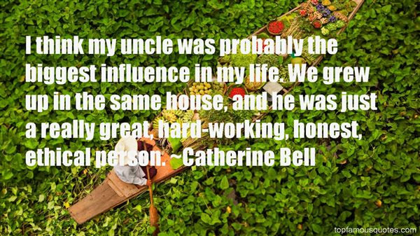 Catherine Bell Quotes