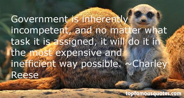 Charley Reese Quotes