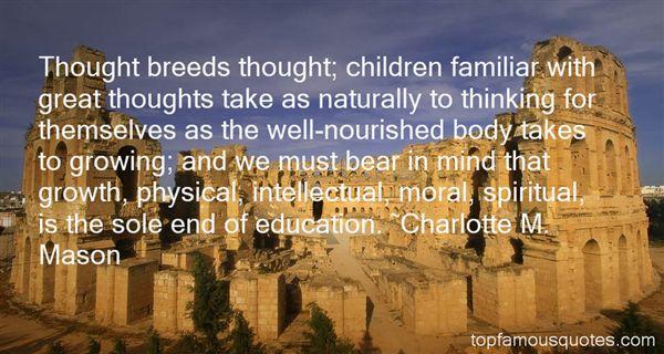 Charlotte M. Mason Quotes