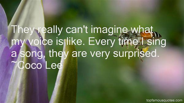 Coco Lee Quotes