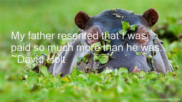 David Holt Quotes