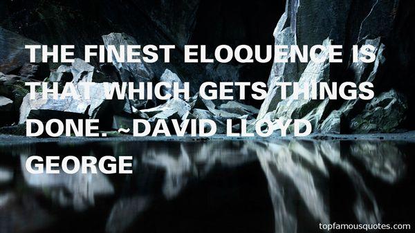 David Lloyd George Quotes