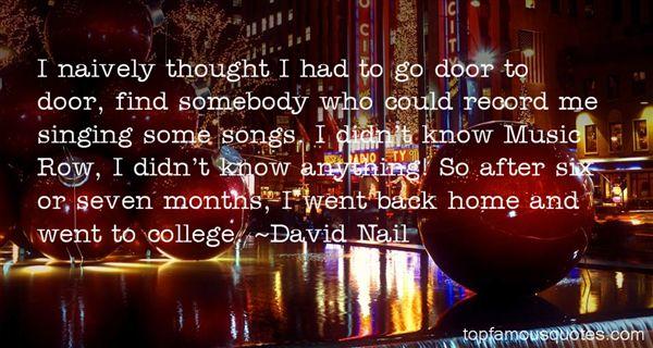David Nail Quotes