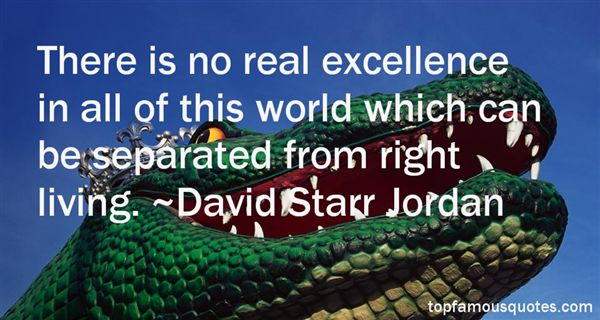 David Starr Jordan Quotes