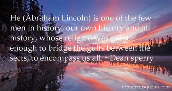 Dean Sperry Quotes