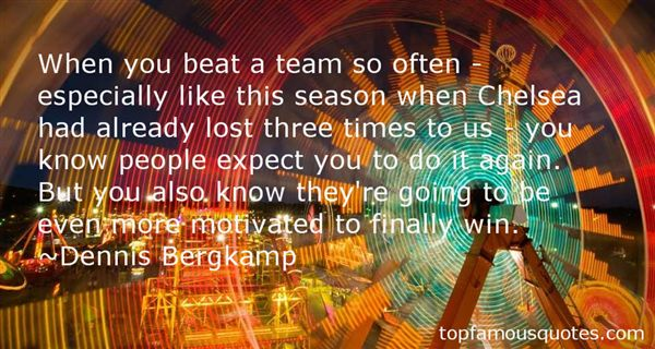 Dennis Bergkamp Quotes