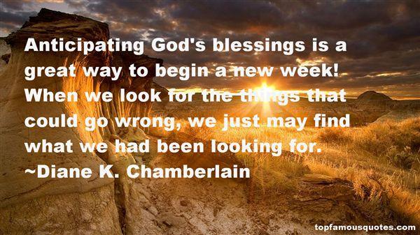 Diane K. Chamberlain Quotes
