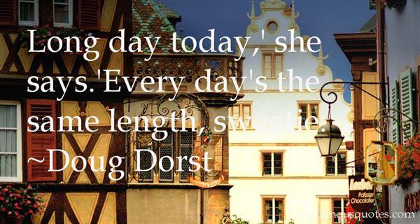 Doug Dorst Quotes