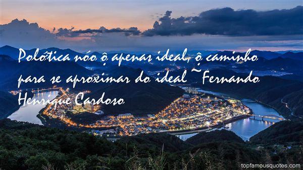 Fernando Henrique Cardoso Quotes
