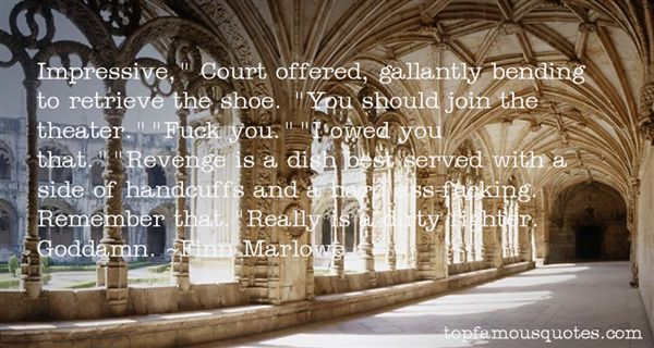 Finn Marlowe Quotes