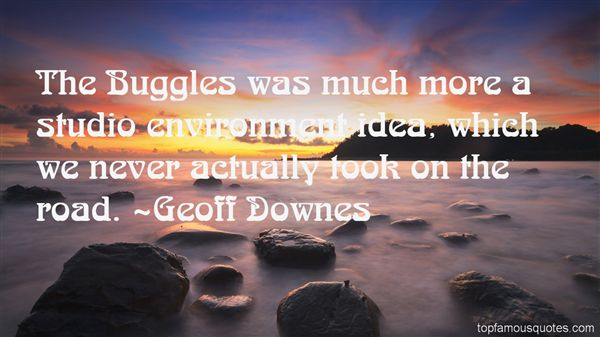 Geoff Downes Quotes