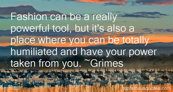 Grimes Quotes