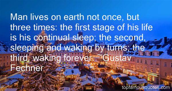 Gustav Fechner Quotes