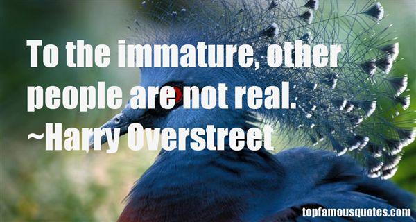 Harry Overstreet Quotes