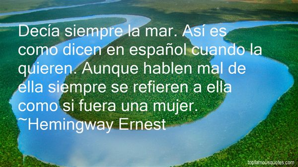 Hemingway Ernest Quotes
