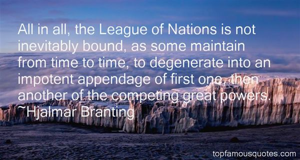 Hjalmar Branting Quotes