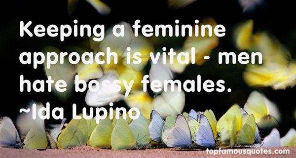 Ida Lupino Quotes