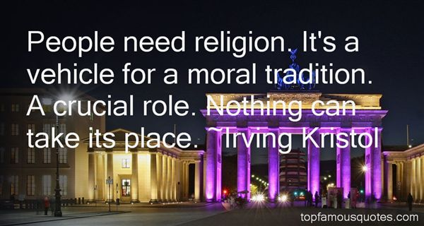 Irving Kristol Quotes
