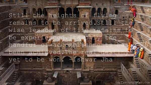 Ishwar Jha Quotes