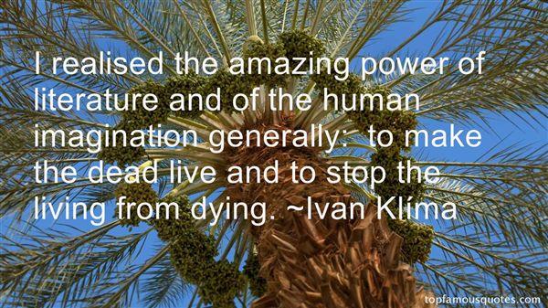 Ivan Klíma Quotes