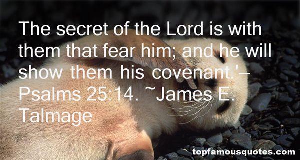 James E. Talmage Quotes