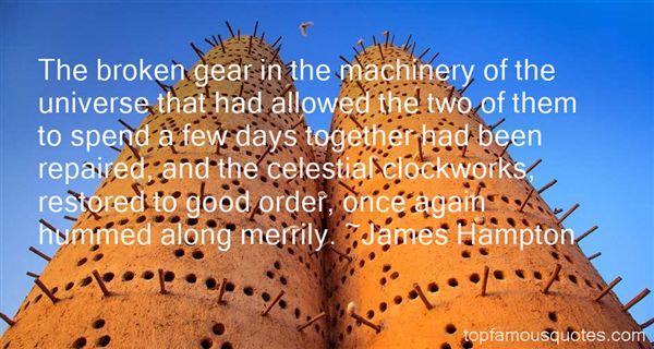 James Hampton Quotes