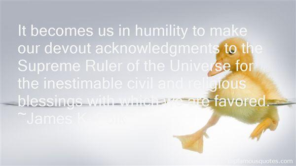 James K. Polk Quotes