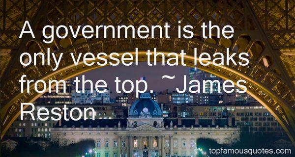 James Reston Quotes