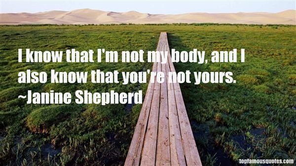Janine Shepherd Quotes