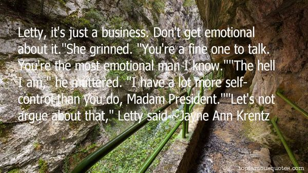 Jayne Ann Krentz Quotes