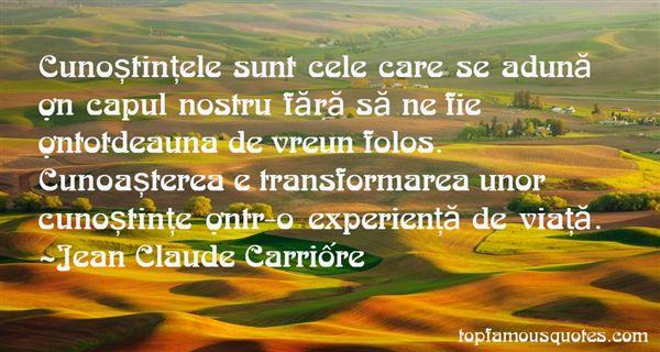Jean Claude Carrière Quotes