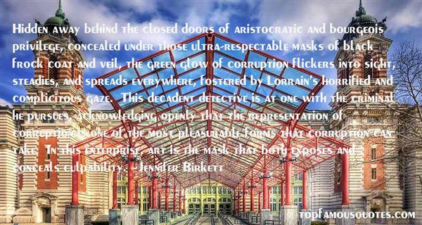 Jennifer Birkett Quotes