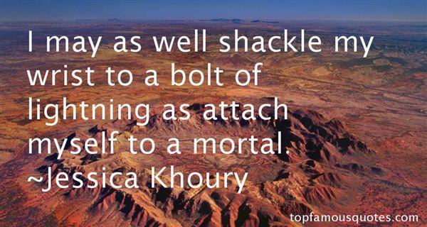 Jessica Khoury Quotes