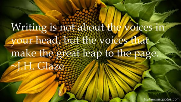J.H. Glaze Quotes